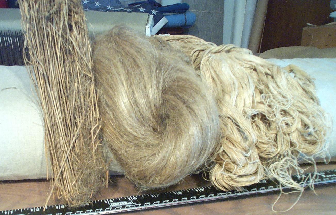 What is flax fiber